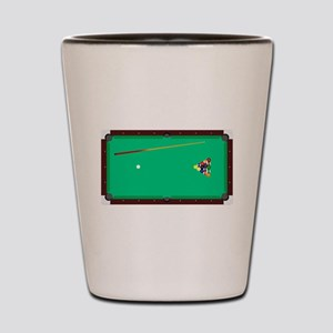 Pool Table Shot Glass