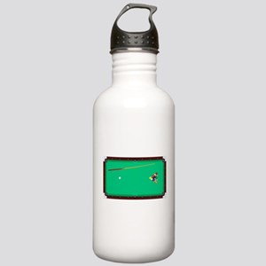 Pool Table Water Bottle