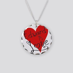 is_love_edward Necklace Circle Charm
