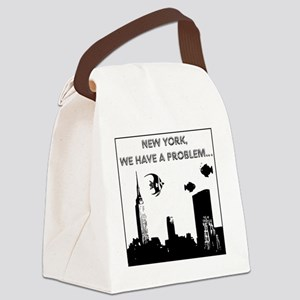 2-nyc problem2small Canvas Lunch Bag