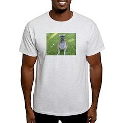 Baby Kangaroo Ash Grey T-Shirt