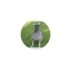 Baby Kangaroo Mini Button (10 pack)
