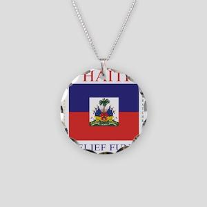 HAITI_2 Necklace Circle Charm