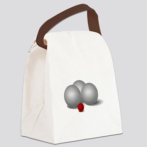 Bocce Ball Canvas Lunch Bag