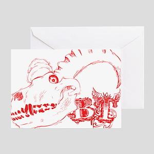 wraam-transparent Greeting Card
