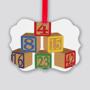 numbers Picture Ornament