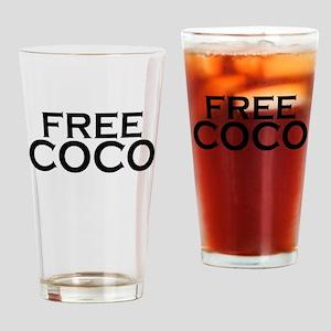 Free2 Drinking Glass