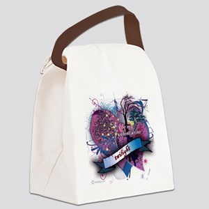 twilight be my valentwine Canvas Lunch Bag
