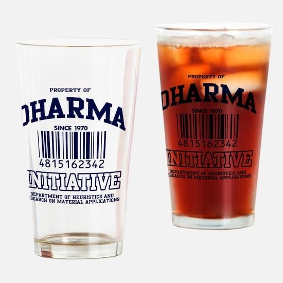dharma-gear-w Drinking Glass