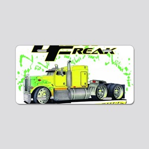 Green Yellow Diesel Freak - Aluminum License Plate