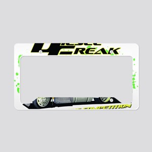 Green Yellow Diesel Freak - n License Plate Holder