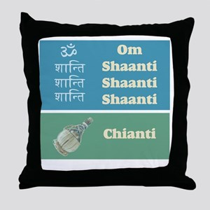 shaanti chianti Throw Pillow