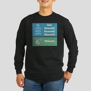shaanti chianti Long Sleeve Dark T-Shirt