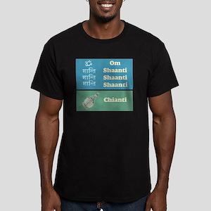shaanti chianti Men's Fitted T-Shirt (dark)