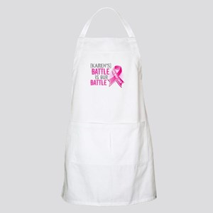 Personalized Breast Cancer Apron
