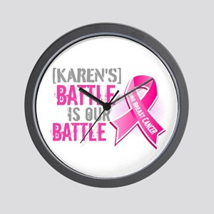 Personalized Breast Cancer Wall Clock