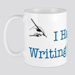 I Have a Writing Disorder Mug