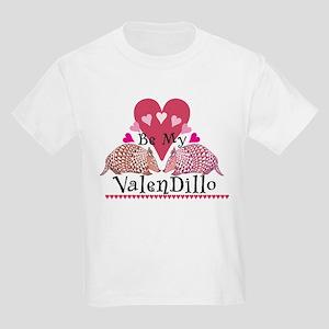 Armadillo Valentine's Day Kids T-Shirt