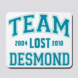 team-lost-desmond Mousepad
