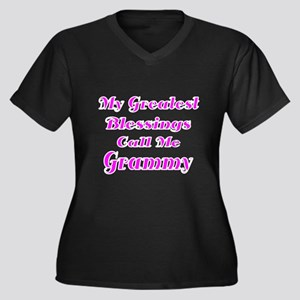 My Greatest Blessings call me Grammy Plus Size T-S