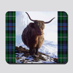 highland_coo Mousepad