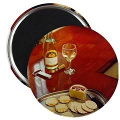 Wine & cheese Magnet