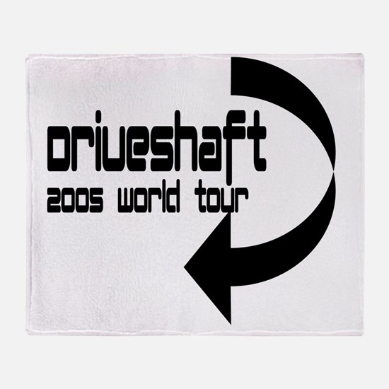 driveshaft1 Throw Blanket