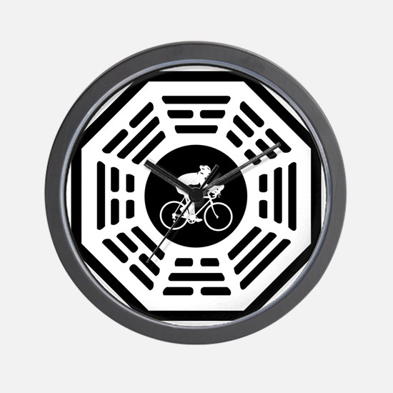Cycling_women_notext Wall Clock