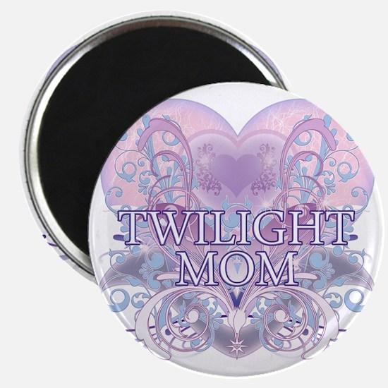 Twilight Mom Fancy Heart Magnet