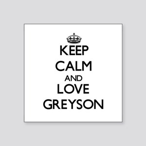 Keep Calm and Love Greyson Sticker