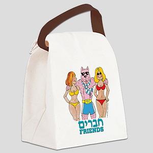 friends Canvas Lunch Bag