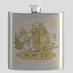 SCATVshirt Flask