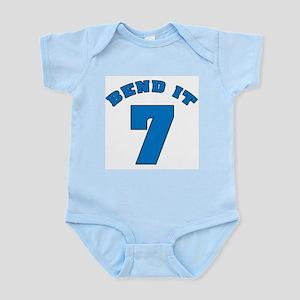 Bend It 7 Soccer Infant Bodysuit