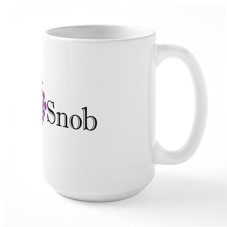 Wine Snob Large Mug