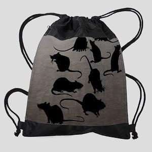 Lots Of Rats Drawstring Bag