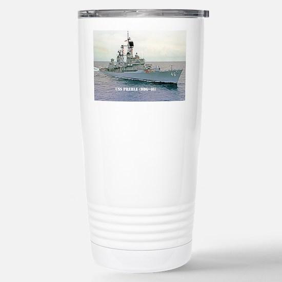 preble ddg mini poster Stainless Steel Travel Mug