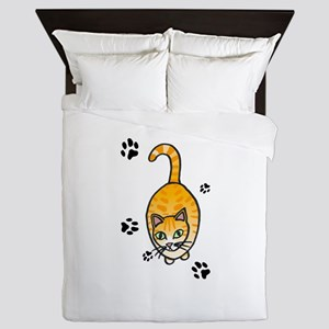 Cat Queen Duvet
