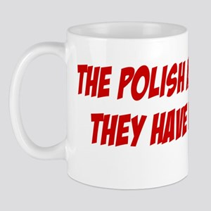 The Polish Are Not Cacti Beer Stein Mug