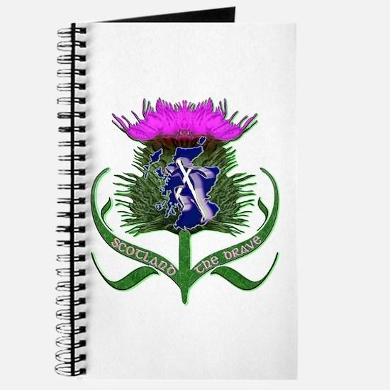 Scottish Runner And Thistle The Brave Journal