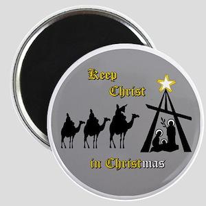 Keep Christ in Christ-mas Magnet