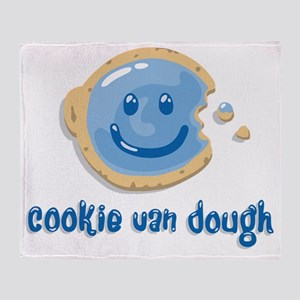 cookiedough Throw Blanket
