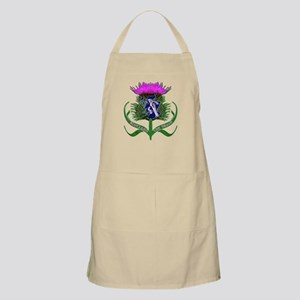 Scottish runner and thistle the brave Apron
