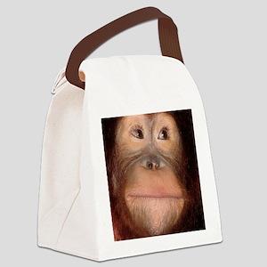 orangutan Canvas Lunch Bag