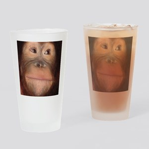 orangutan Drinking Glass