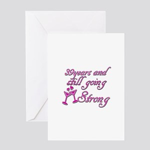 39 marriage anniversary greeting cards cafepress 39 year wedding anniversary greeting card m4hsunfo