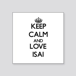 Keep Calm and Love Isai Sticker
