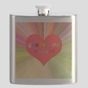 Gratitude Rocks 3 Flask
