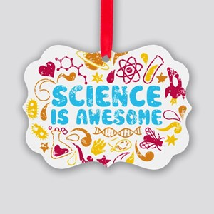 3-science Picture Ornament