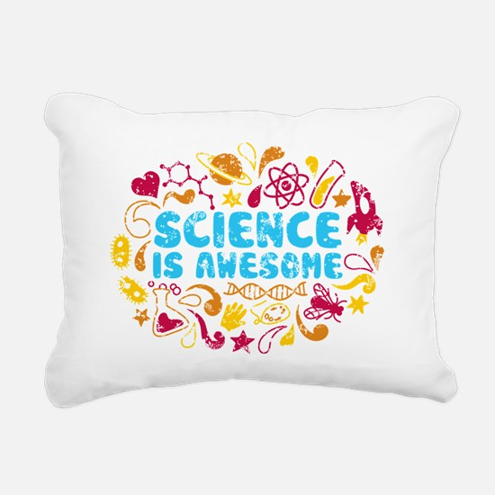3-science Rectangular Canvas Pillow
