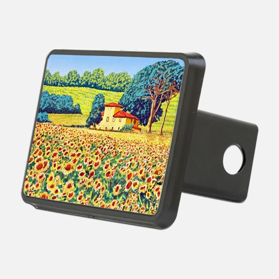 Faces in the Field ap Hitch Cover